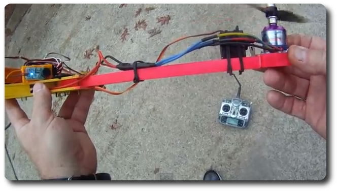 quadcopter noodle Build a SmartLab Drone Tricopter for  100$