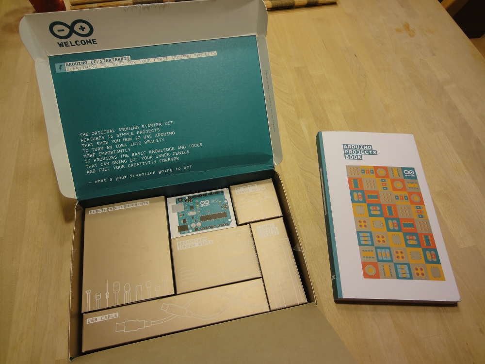 A Maker's Dream: Unboxing the new Arduino Education Starter Kit
