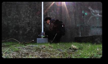 Urban Graffity Tagging Pole Climbing Robot
