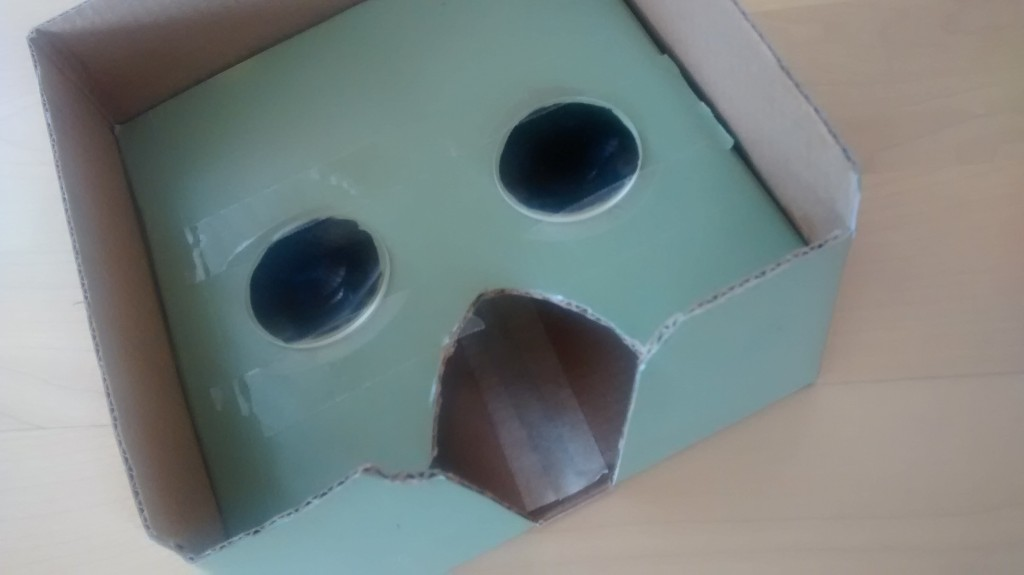 Nexus 7 Cardboard VR Kit Box