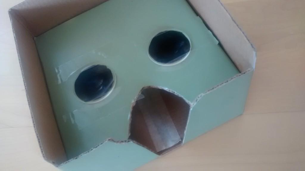 Nexus 7 Cardboard VR Kit Box