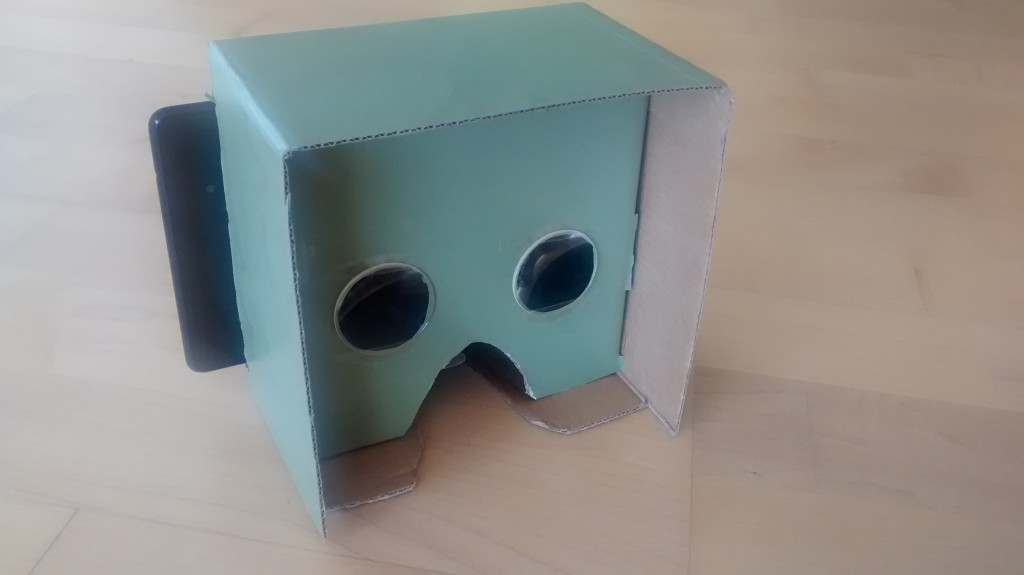 Nexus 7 Cardboard VR Kit