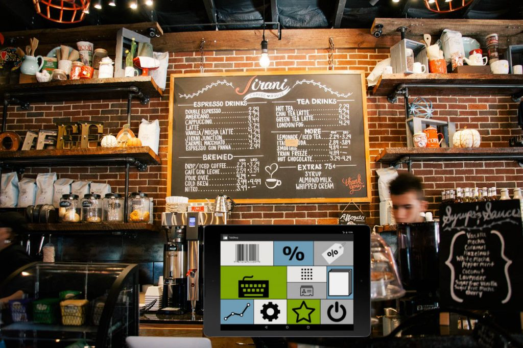 Bar pos cashier TabShop